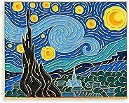 Pinsanity Van Gogh Starry Night Painting Enamel Lapel Pin