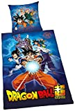 Herding DRAGONBALL SUPER Bettwäsche-Set, Bettbezug 135...