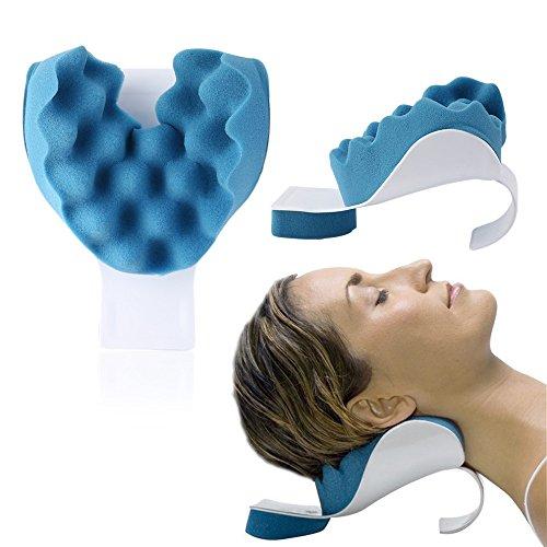 REARAND Nacken und Schulter Relaxer Nackenschmerz Linderung und Unterstützung und Schulter Relaxer Massage Traktion Kissen (Knoten Schulter)