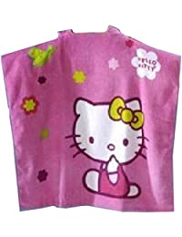 Hello Kitty - Cape de bain Hello kitty rose - unique