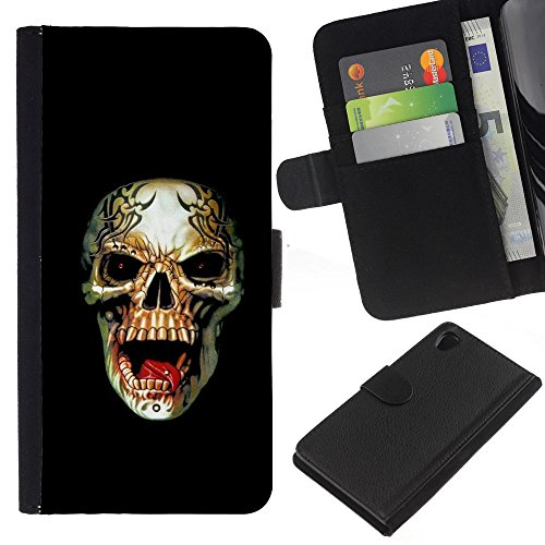 zcell-sony-xperia-z2-d6502-rogue-metal-heavy-rock-black-skull-wallet-cuir-pu-coverture-shell-armure-