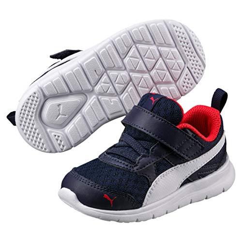 Puma Scarpe Baby Sneakers Flex Essential In Tela Blu 190684-02