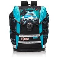 Mc Neill Set de sacs scolaires, noir/bleu (Multicolore) - 9616129000
