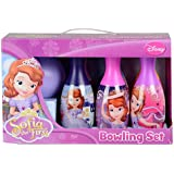 Disney Characters Colourful Magical Bowling Pin and Ball Set for Ages 2+