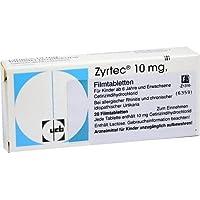 ZYRTEC 20St Filmtabletten PZN:4967029 preisvergleich bei billige-tabletten.eu