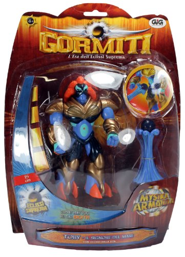 Gormiti Action Figure: Toby the Lord of the Sea
