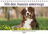 DIE BUNTE WELT DER AUSTRALIAN SHEPHERDS (Tischkalender 2019 DIN A5 quer): Mit den Aussies unterwegs (Monatskalender, 14 Seiten ) (CALVENDO Tiere)