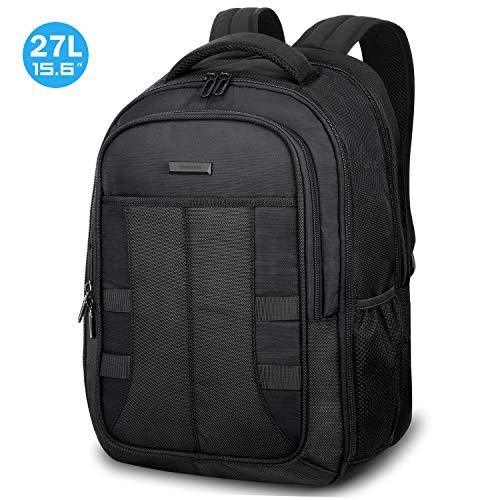 SHIELDON Laptop Rucksack 15,6 Zoll, Reiserucksack Herren, Ultra Groß Daypack für MacBook, RFID Rücksack für Notebook 15-15,6, Wasserdicht Backpack Wärmeableitung für Travel Business, (Männer) -