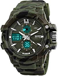 MILITARY DIGITAL AND ANALOG WATCH FOR MEN AND BOYS WITH THE BEST DEAL AND FAST SELLING