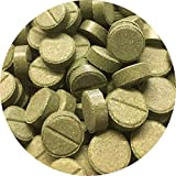 Futtertabletten Haft Tabletten 11mm 20% Spirulina Pflanzliches Fischfutter Wels 1 l/1260St.