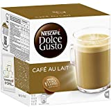 Nescafé Dolce Gusto Café au Lait, Lot de 3, 3 x 16 Capsules