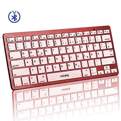 VicTsing Neu Groß Schnurlos Maus Wireless Mouse 2.4G 2400 DPI 6 Tasten Optische Mäuse mit USB Nano Empfänger Für PC Laptop iMac MacBook Microsoft Pro, Office Home - -