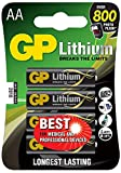 GP Batteries Lithium AA GPPCL15LF005 Lot de 4