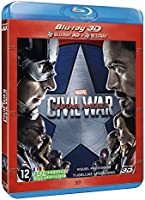 Captain America civil war Blu-ray 3D