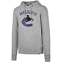 '47 Brand Vancouver Canucks Knockaround Hoodie NHL Sweatshirt Grau