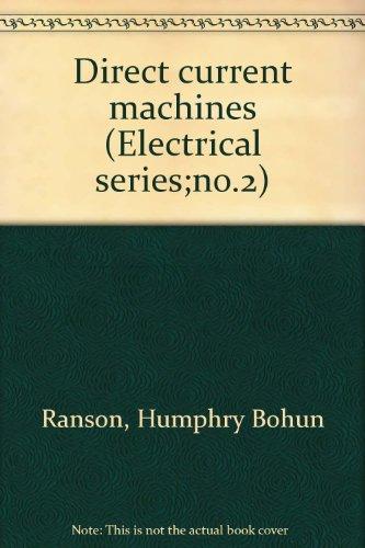 Direct Current Machines