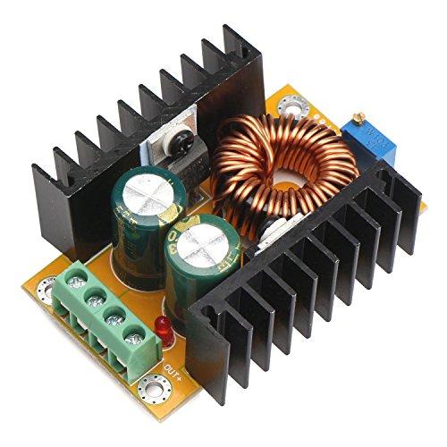 Preisvergleich Produktbild DROK® DC-DC-Boost-Wandler Power Adapter 12V / 24V 10-32V bis 36-60V 48V einstellbare Spannungsregler Step Up-Konverter-Modul für Auto Auto Motor Stromversorgung Ladegerät DIY