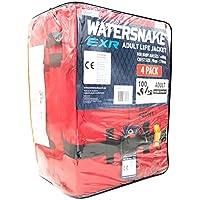 Watersnake adultes 100N EXR mousse Bloc Gilet de sauvetage Lot de 4