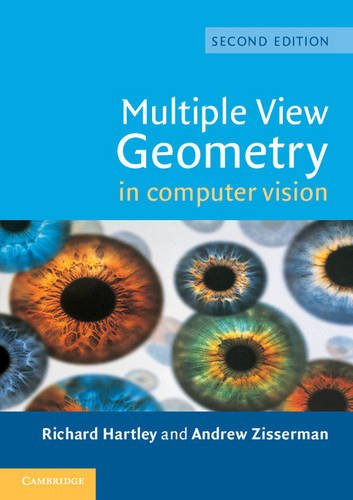 Multiple View Geometry in Computer Vision 2nd Edition Paperback