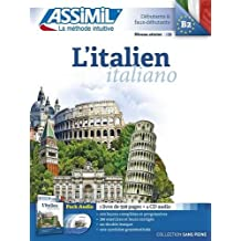L'italien Pack Audio ( 1 livre de 528 pages + 4 CD audio)