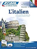 L'italien Pack Audio ( 1 livre de 528 pages + 4 CD audio)...