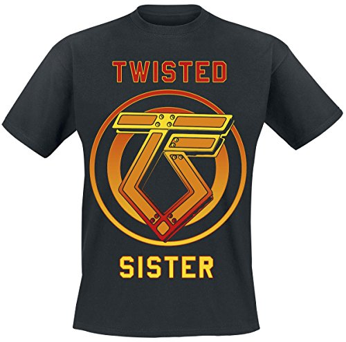 Twisted Sister You Can't Stop Rock N' Roll T-Shirt nero XXL