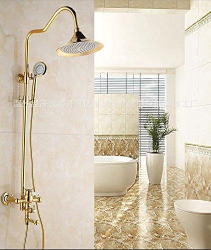 doccia-bath-rame-oro-in-stile-europeo-di-lusso-completo-di-sollevamento