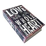 Verschleierte Buch-Stil-Sicherheit-Startseite Geld sicher Cash Box Sperre S Größe Liebe