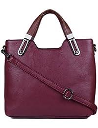 ISweven Women's Stylish Handbag | PU Leather Shoulder Bags For Women | Women's Satchel | Party Wear Handheld Sling...
