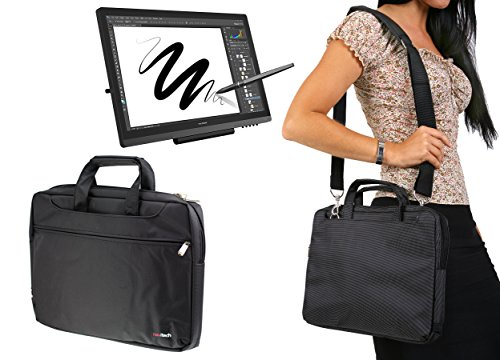 Navitech Étui de tablette graphique noir / sac pour le Huion GT-191 8192