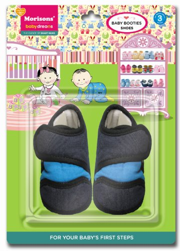 Baby Dreams Baby Booties-Shoe (Denim)
