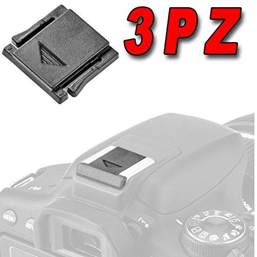 OLYMPUS 3 COVER PER PROTEZIONE SLITTA FLASH COPERTURA COPERCHIO TAPPO HOT SHOE MOUNT PROTECTION CAMERA X FOTOCAMERA COMPATIBILE CON M4/3 MICRO 4/3 PEN E-PL9 OM-D E-M10 MARK III, OM-D E-M1 II PEN E-PL8...