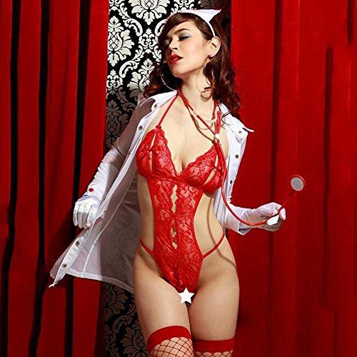 Myhope Infermiera Costume Donna Sexy Biancheria Cosplay