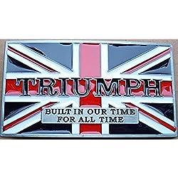 Choppershop Triumph Biker Motorcycle Moteros Hebilla de cinturón