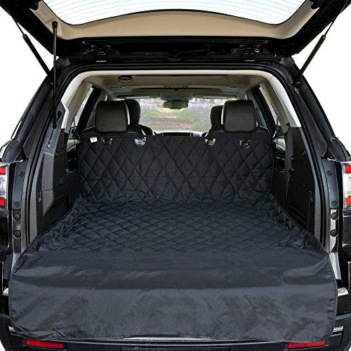 Hcmax grande cane veicolo protezione bagagliaio auto copertura per sedile cani animale domestico coprisedile stuoia antiscivolo impermeabile universale per suv camion jeep furgoni
