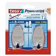 TESA PowerStrip Haken ch.oval