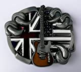 Guitar Eagle claw Metal belt buckle