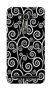 ZAPCASE PRINTED BACK COVER FOR ZENFONE 2 LASER- Multicolor