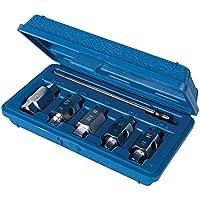 Silverline 867613 Coffret de douilles de vidange, 6 pcs Bleu
