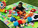 Vruta Waterproof, Anti Skid,Double Sided Baby Play & Crawl Mat, 6X5ft (MAT001)