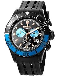 Breil Milano BW0407 - Reloj de mujer de cuarzo, correa de caucho color negro