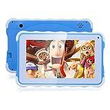 Excelvan 7 Zoll Kinder Tablet PC Android 4.4.4 1.3GHz Quad Core 8GB ROM Speicher WIFI Tablet für Kids Blau