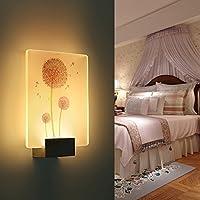 Wall lamp Iluminación, luz de Pared Minimalista Moderna, led, lámpara Moderna Creativa del Pasillo de la Escalera del Dormitorio de la Sala de Estar Rectangular, iluminación casera de la Pared,J