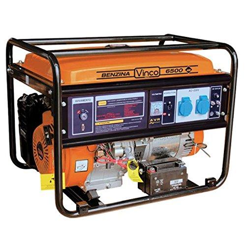 Vinco 60134 Generatore di Corrente Vinco 3.1 Kw, Nero