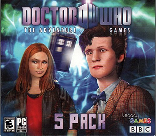 DOCTOR WHO The Adventure Games Episodes 1 to 5 PC Game DVD-ROM by Legacy Games