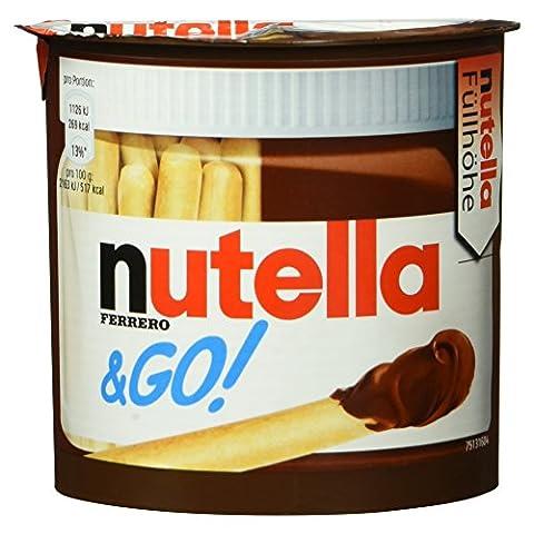 Ferrero nutella und Go!, Brotsticks und Nuss-Nugat-Creme, 52 g (Nutella Ferrero)