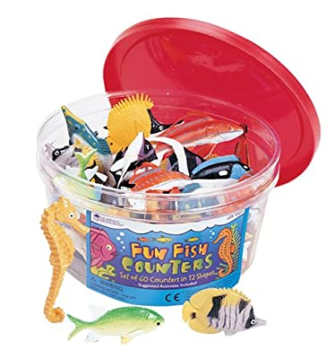 Learning Resources Fun Fish Counters by Learning Resources
