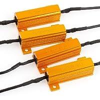 Resistori Per Lampadine Led,Indicatore Lampeggiante Di Errore Di Segnale 6Ohm 50W,4 Pezzi