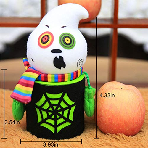 Halloween Shirt - Halloween Decoration Pumpkin Ghost Goody Bottle Case Candy Jar Household Home Decor Party - Decorations Party Party Decorations Cute Ribbon Carnival Tiara Angel Outfit Cove -