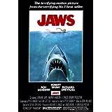 Poster Filmplakat, Der Weiße Hai 1973, ca. 91x61cm